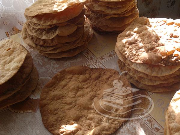 Коржі для торта Наполеон | Рецепт | Блог | Торт на замовлення