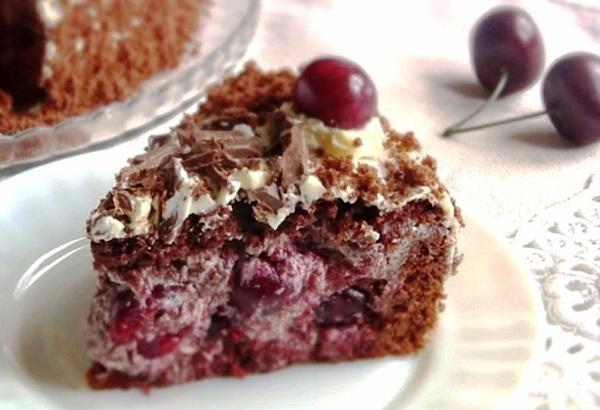 Торт П'яна вишня | Блог Наталі