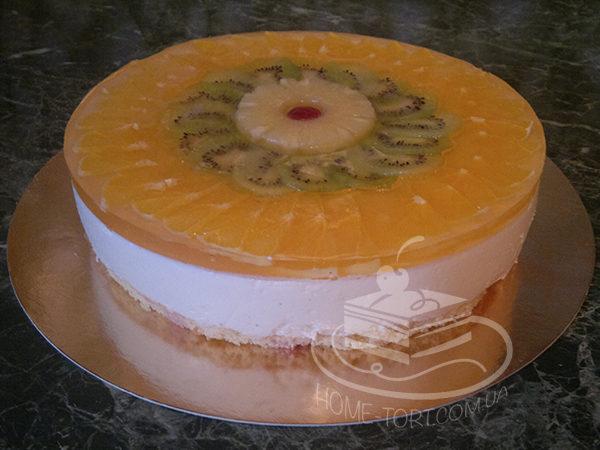 Торт сирний на замовлення