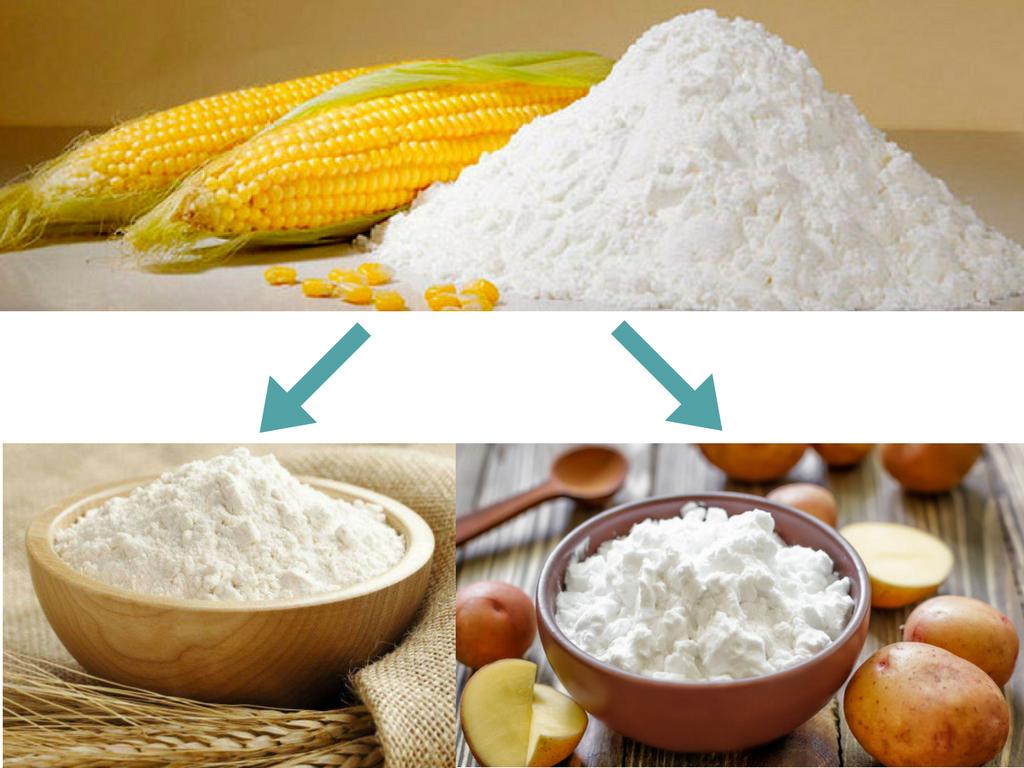 Чим замінити Кукурудзяний крохмаль в рецептах   Поради господині   Блог Наталі