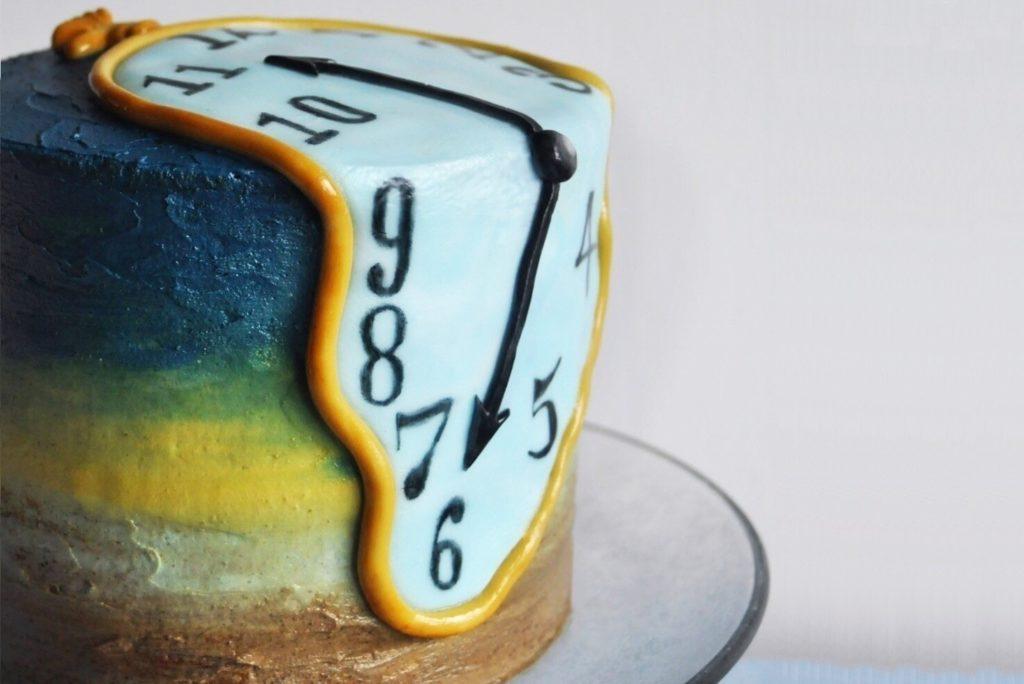 Торт годинник Далі | Як та скільки зберігати десерти | Блог | Торт на замовлення