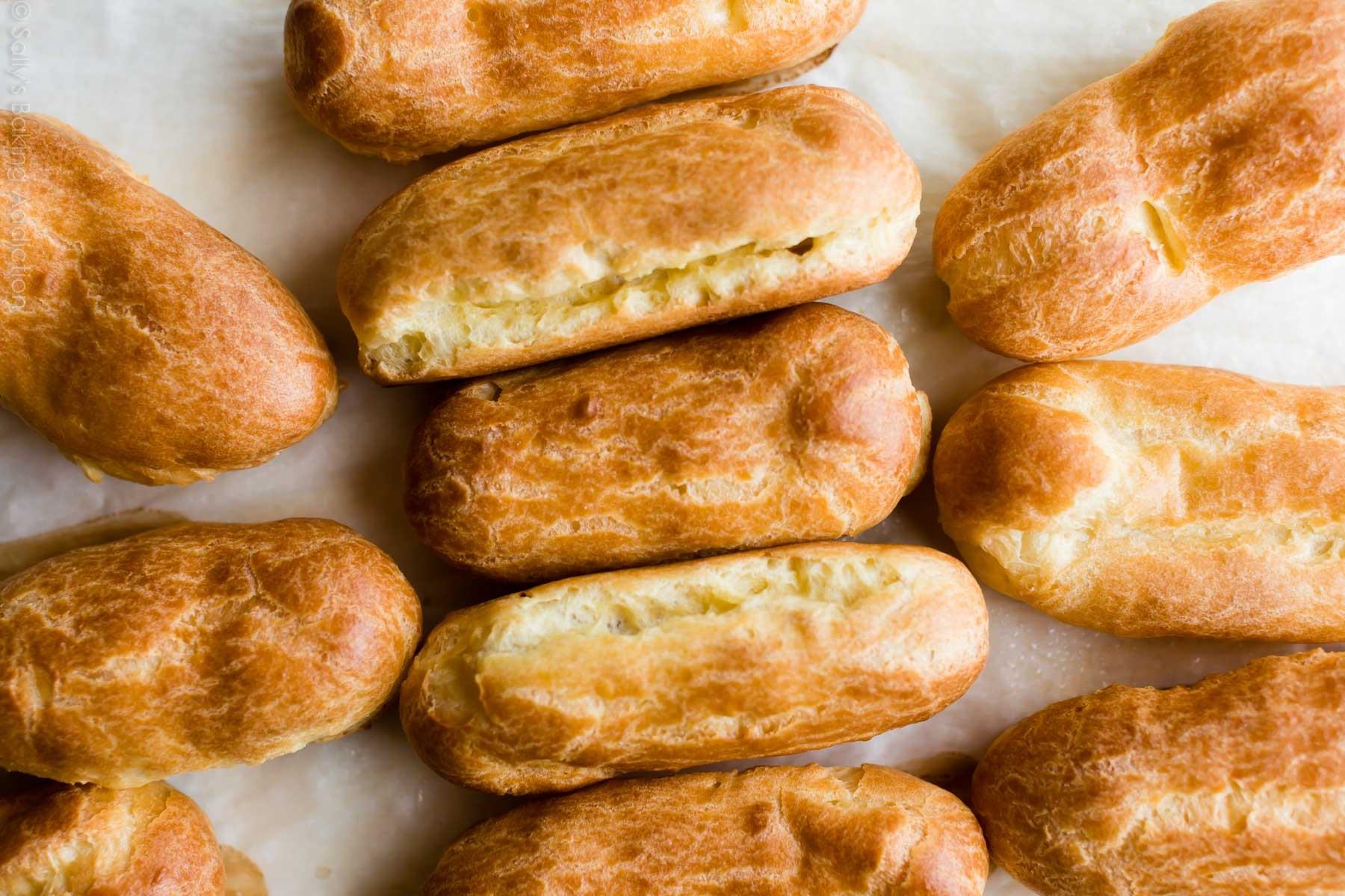 Дрібні тріщини по всьому тістечку | секрет Ідеальних еклерів | Блог | Торт на замовлення