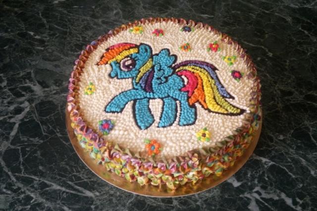 Торт для дівчинки дитячий на День народження
