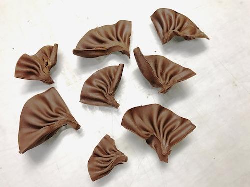 Шоколадне віяло | Шоколадний декор торта