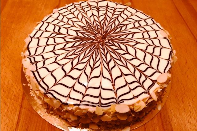 Оформлення торту (декор) простий - класичний | Торт Естерхазі