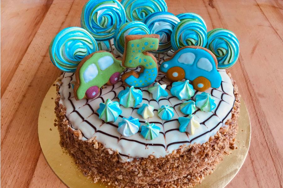 Торт для хлопчика дитячий на День народження