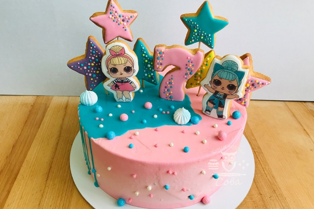 Торт для дівчинки на день народження