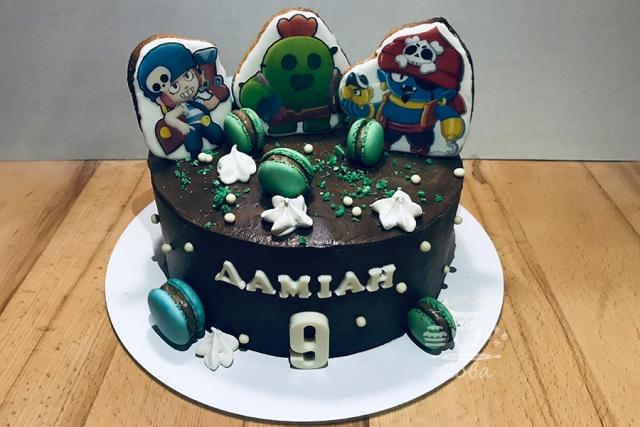 Торт для хлопчика на День Народження