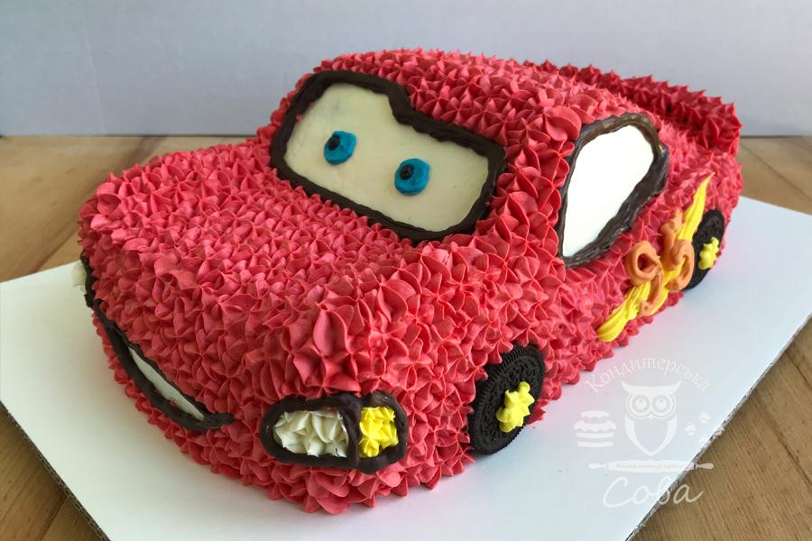 Торт Тачки - Маквін | Торт на замовлення