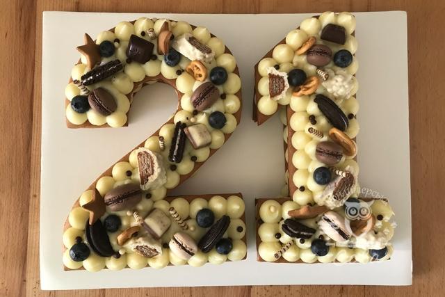 Торт - цифра на день народження
