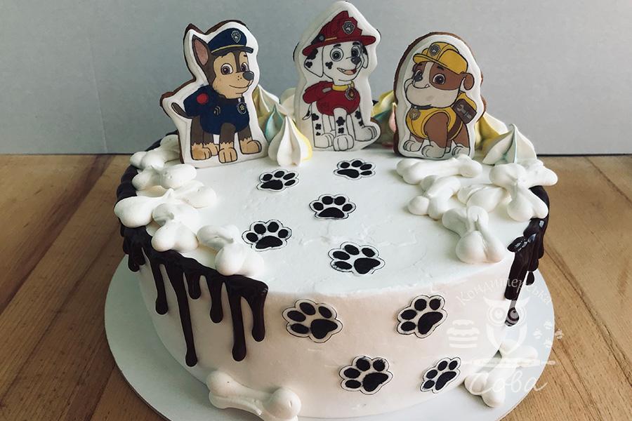 Торт Щенячий патруль | Торт на замовлення