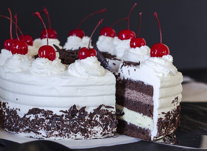 Торт Чорний ліс | Торт на замовлення