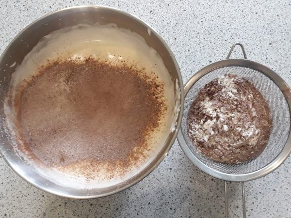 шоколадний бісквіт рецепт