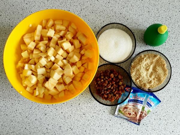 Рецепт штруделя - приготування начинки