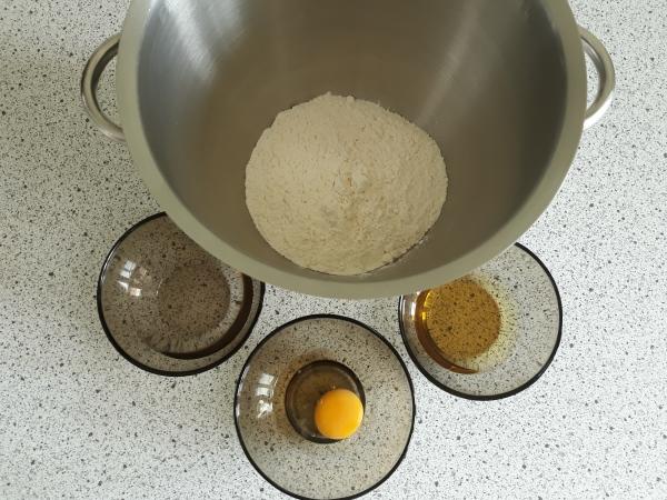 Рецепт штруделя - приготування тіста