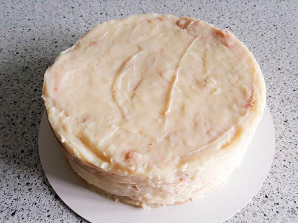 Рецепт Наполеона | Торт без крихти | Торт на замовлення Львів