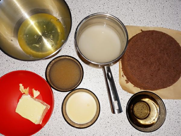 Рецепт торта Пташине молоко - складові суфле
