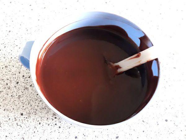 Рецепт торта Пташине молоко - шоколадна глазур