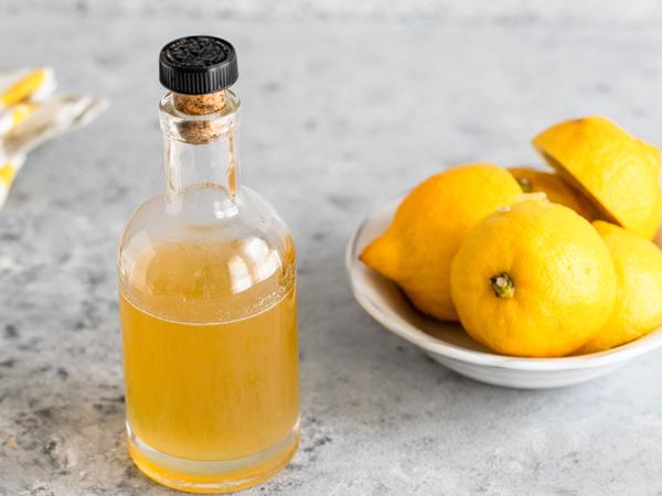 Лимонний сироп для просочення торта