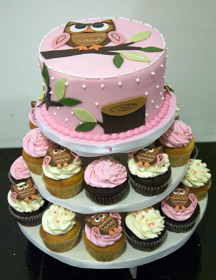 Торт з капкейків на замовлення Львів
