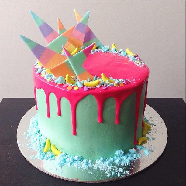 Цукрові Уламки | Тренди дизайну тортів 2018-2019 | Блог | Торт на замовлення