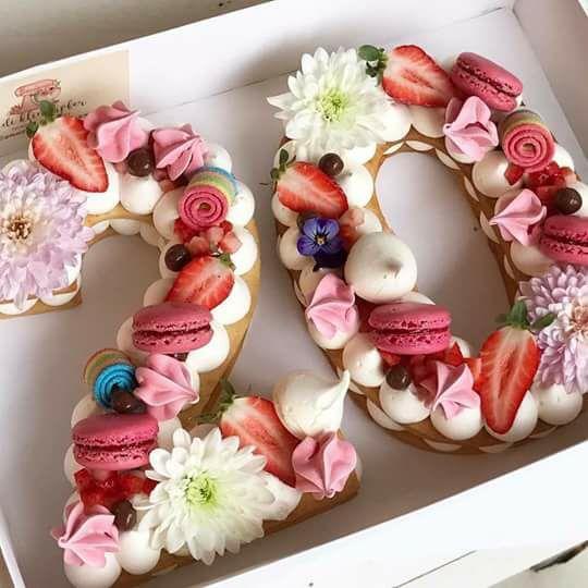 торт літера | Тренди дизайну тортів 2018-2019 | Блог | Торт на замовлення