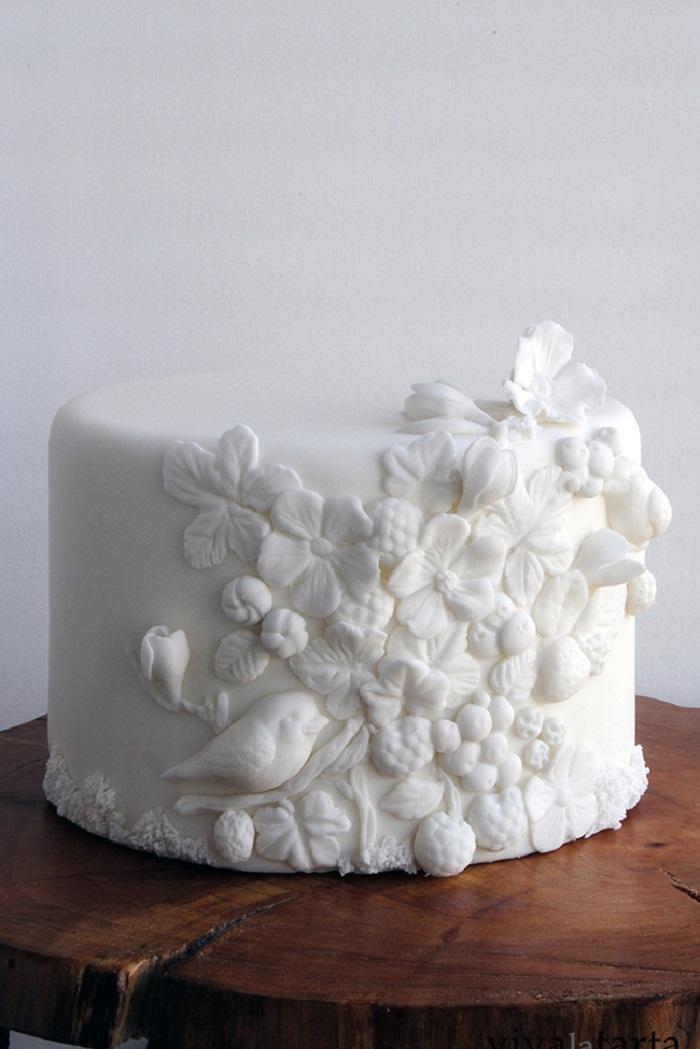 Торт з 3Д текстурами | Тренди дизайну тортів 2018-2019 | Блог | Торт на замовлення