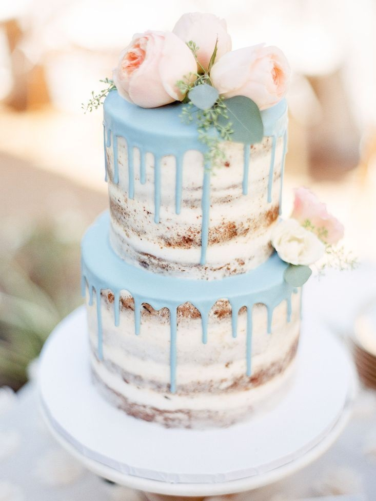 Напів голений торт | Тренди дизайну тортів 2018-2019 | Блог | Торт на замовлення