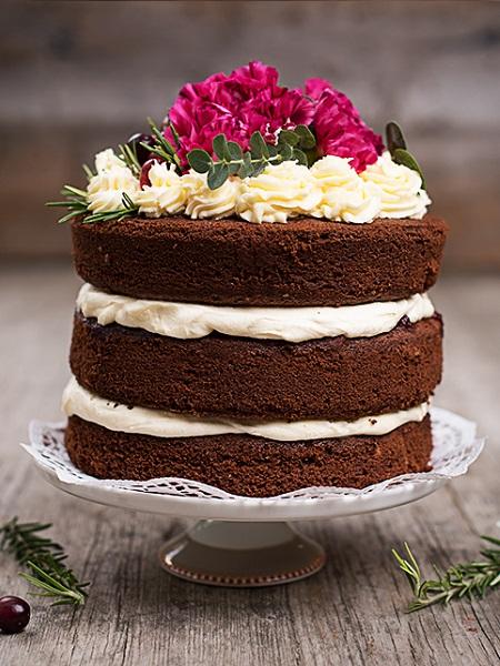 Оголений торт | Тренди дизайну тортів 2018-2019 | Блог | Торт на замовлення