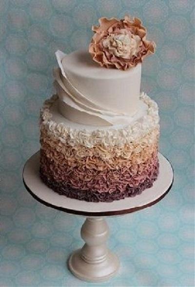 Асиметричний торт | Тренди дизайну тортів 2018-2019 | Блог | Торт на замовлення