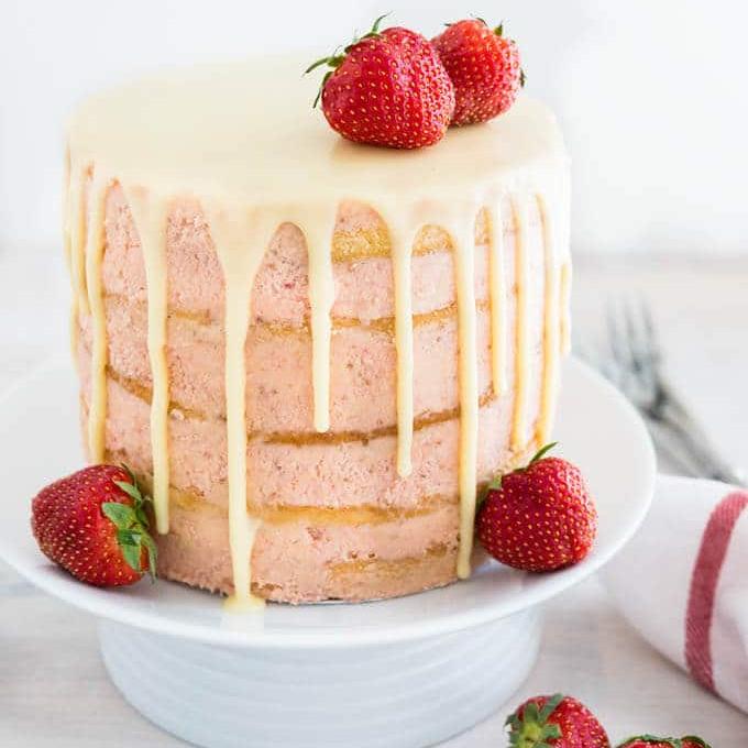 Крапельний торт | Тренди дизайну тортів 2018-2019 | Блог | Торт на замовлення