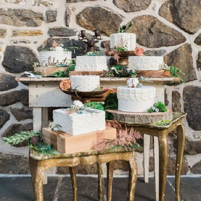 Десертні столи | Тренди дизайну тортів 2018-2019 | Блог | Торт на замовлення