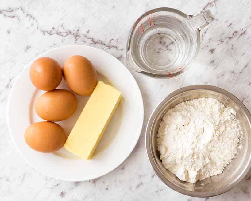 Інгредієнти для заварного тіста | Торт на замовлення у Львові | Блог