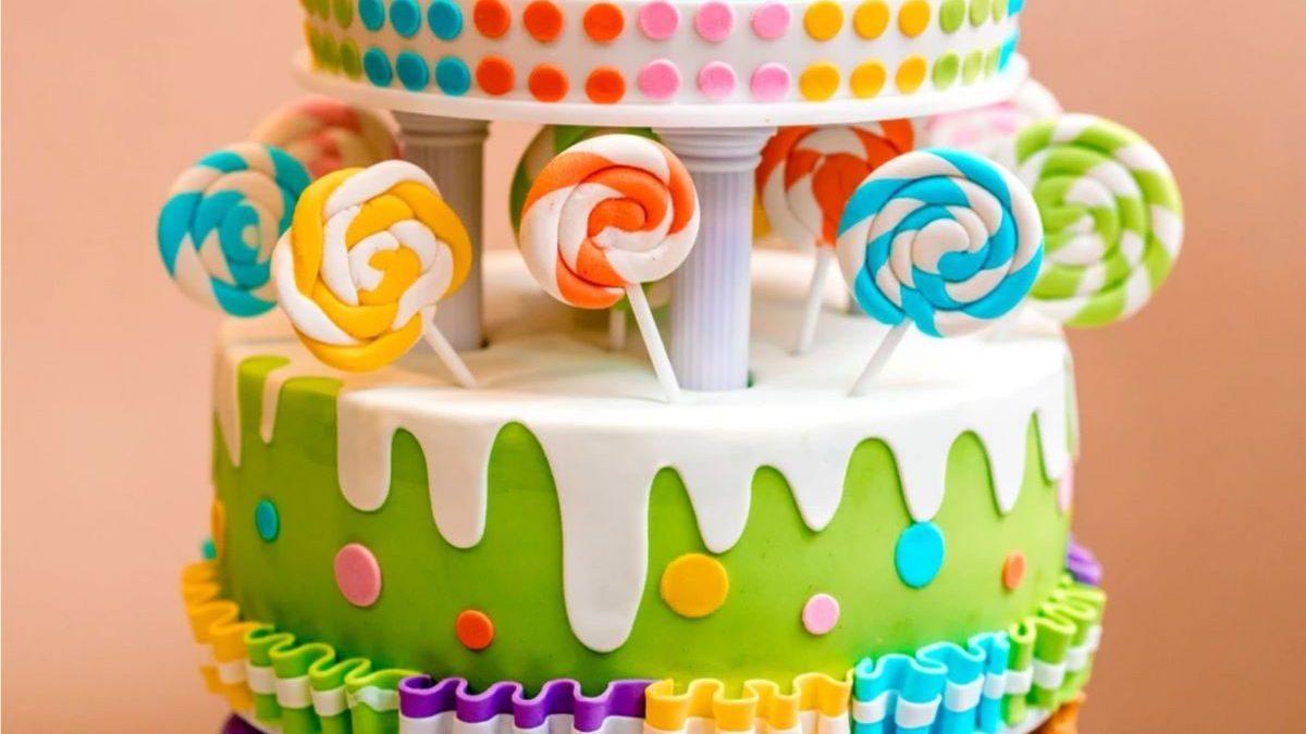 Мастика у дитячих тортах | Дитячий торт на замовлення Львів