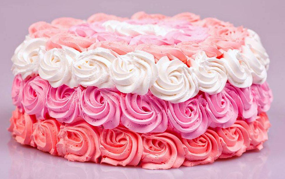Декор торту кольоровим кремом | Торт на замовлення у Львові