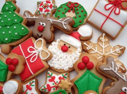 Пряники на новорічний корпоратив | Торт на замовлення у Львові