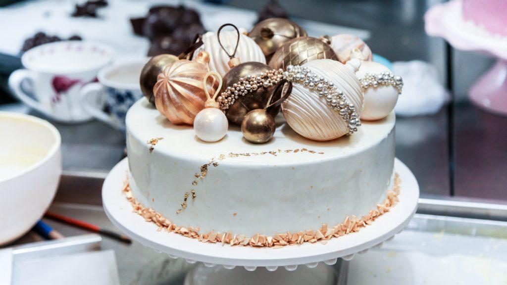 Торти на новорічний корпоратив | Торт на замовлення у Львові