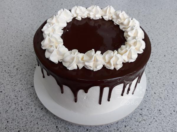 Декоруємо торт Шварцвальд   Рецепт
