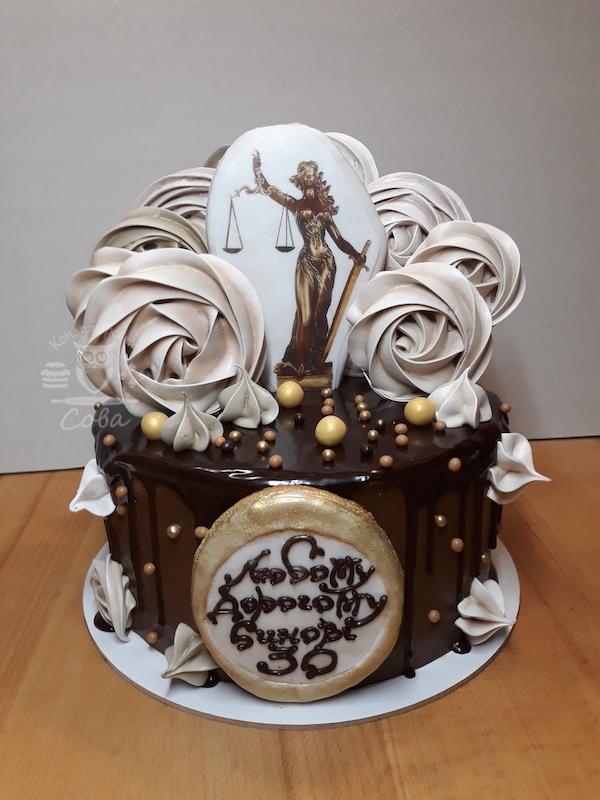 Торт для чоловіка юридичний