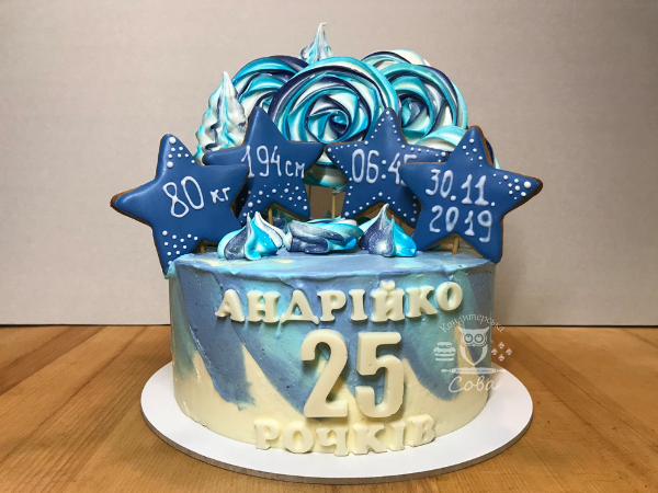 Оригінальні ідеї декору торту для чоловіка | Торт на замовлення у Львові