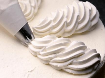Вершковий крем для еклерів | Торт на замовлення у Львові
