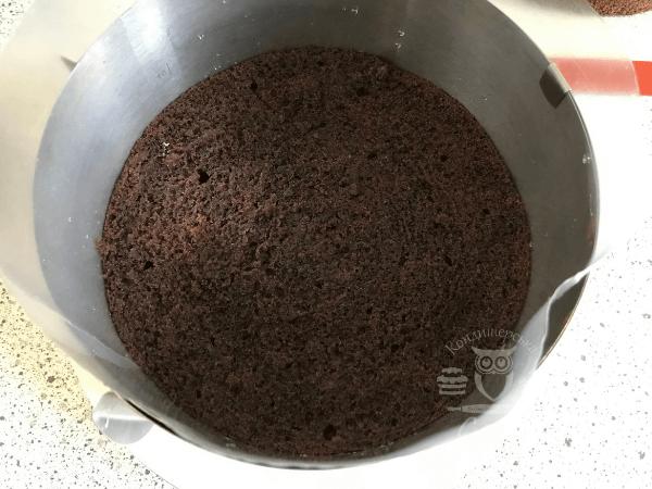 Перший бісквіт торта Шварцвальд   Рецепт