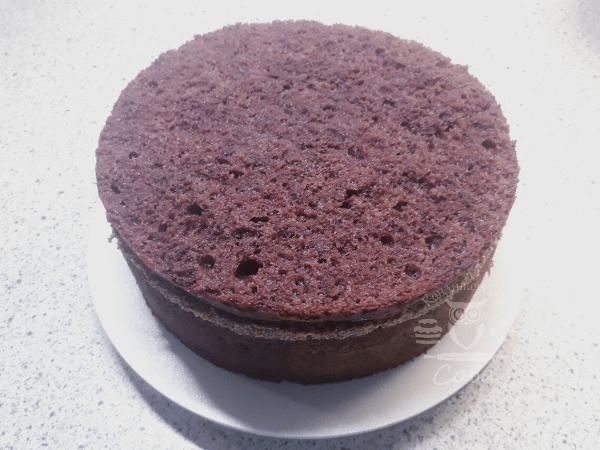 Збираємо торт П'яна вишня - рецепт