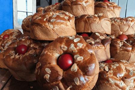 Цурекі або лабропсомо | Пасхальна випічка країн світу | Великодня випічка | Торт на замовлення у Львові
