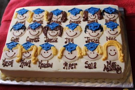 Торт на випускний у школі